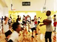 Children enjoy basketball in Gresham.